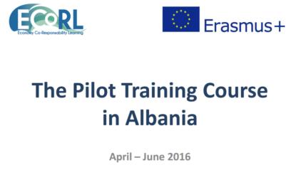 Inizio corso Ecorl in Albania